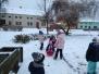 Konečně nasněžilo MŠ